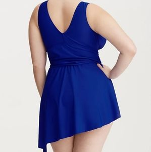 torrid Swim - Torrid Asymmetrical One-piece Swimsuit